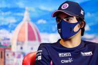 Lance Stroll (CDN) Racing Point F1 Team in the FIA Press Conference.
