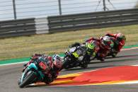 Fabio Quartararo , MotoGP race. Teruel MotoGP. 25 October 2020