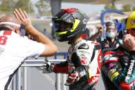 Suzuki, wins Moto3 Andalucia race in Jerez