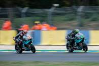Franco Morbidelli, Fabio Quartararo, French MotoGP. 9 October 2020