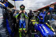 Valentino Rossi, French MotoGP race. 11 October 2020
