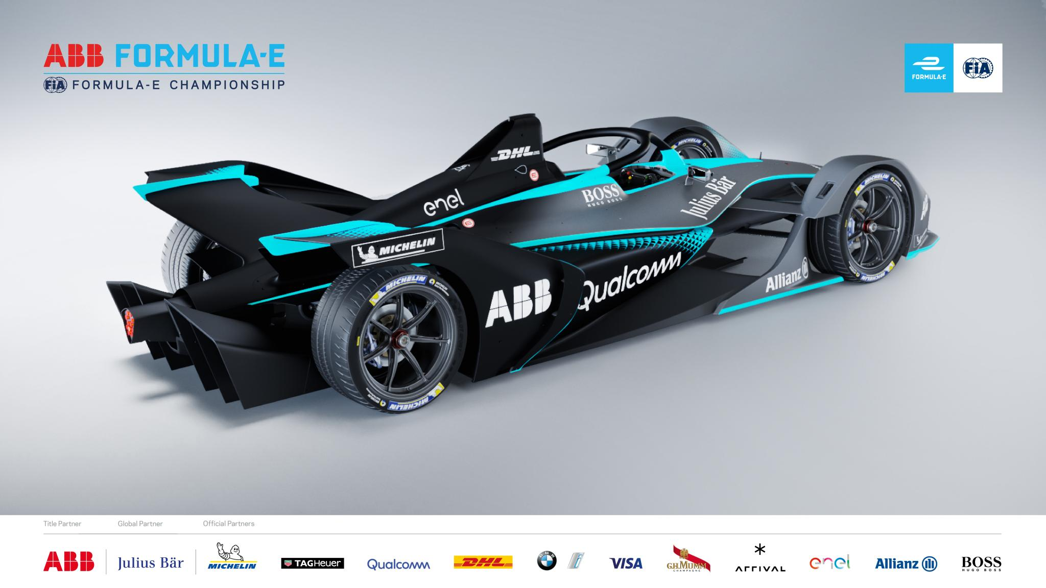 Formula E unveils new 'Gen 2' car for Season 5