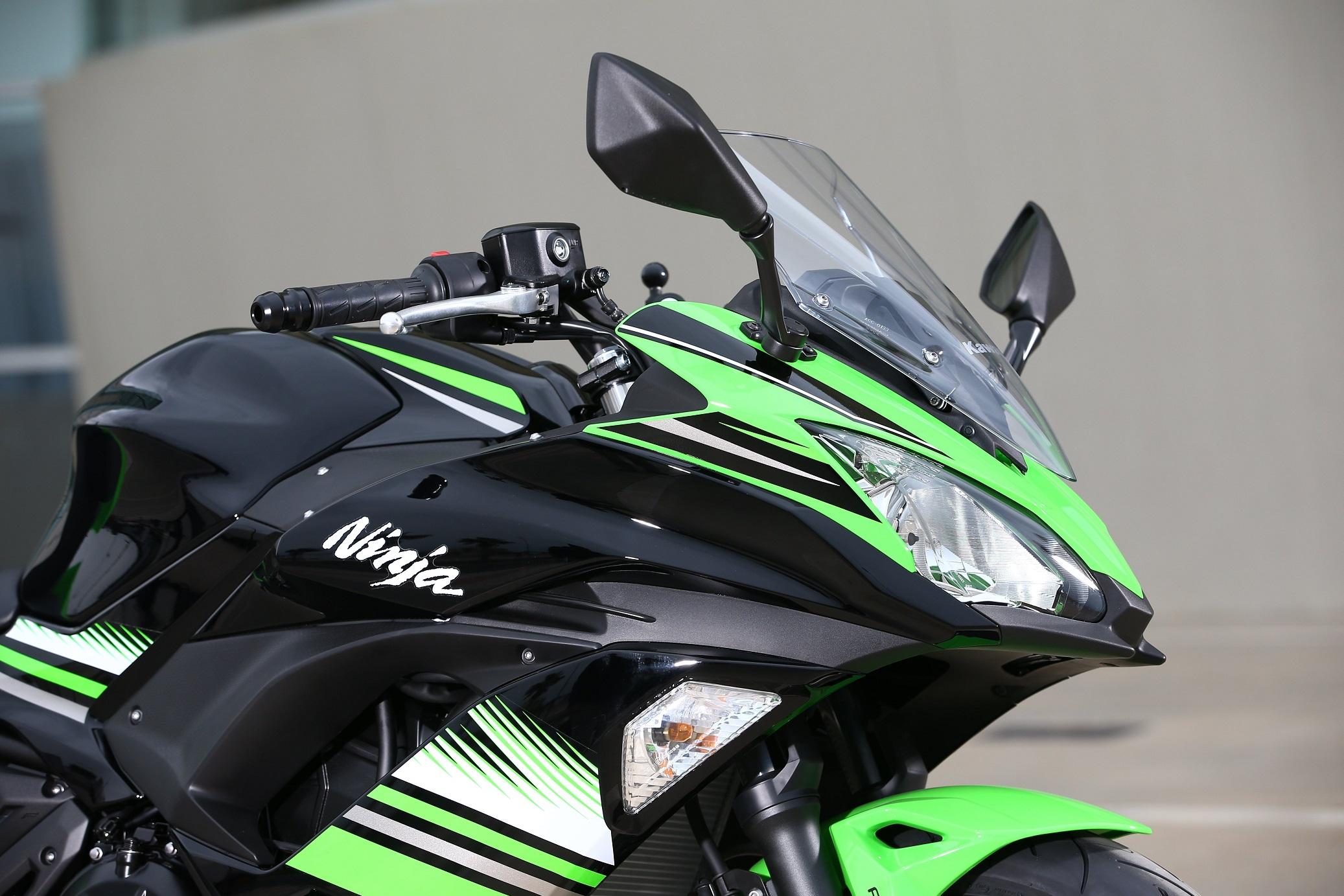 Kawasaki Ninja 650 styling