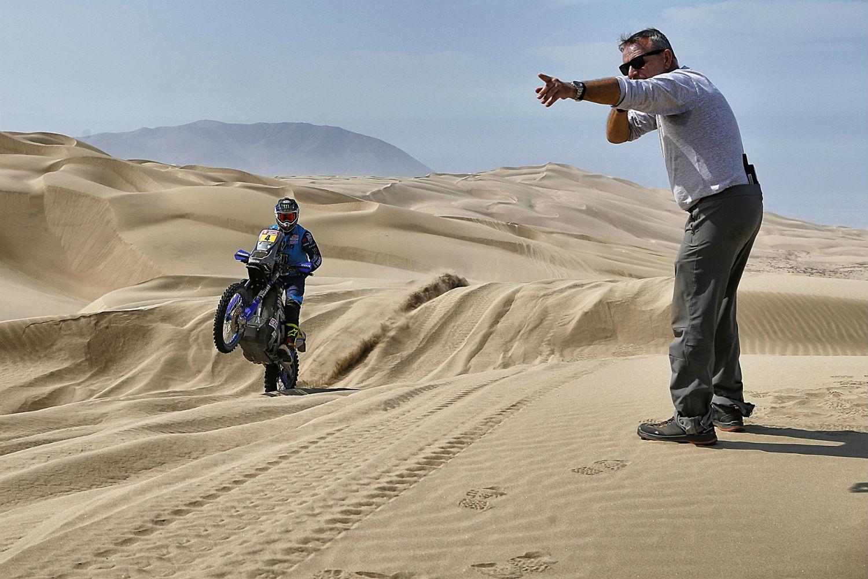 Honda's Joan Barreda breezes to first place finish in Dakar Stage 5