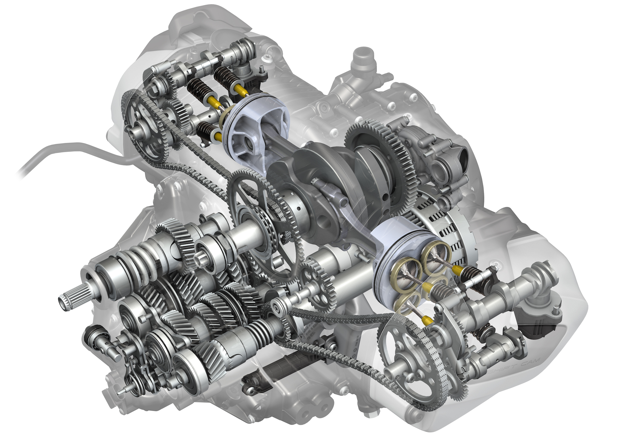 2019 R1250 GS ShiftCam engine