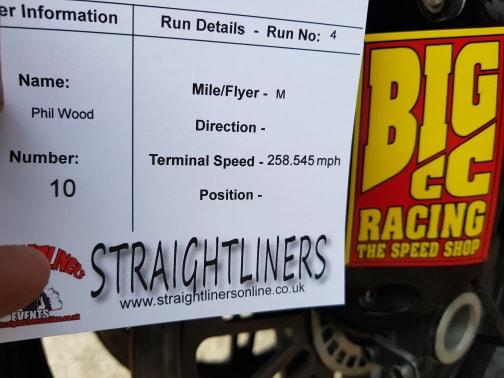 Big CC's drag racing 1000bhp Hayabusa