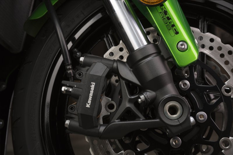 2017 Kawasaki Z1000SX brakes