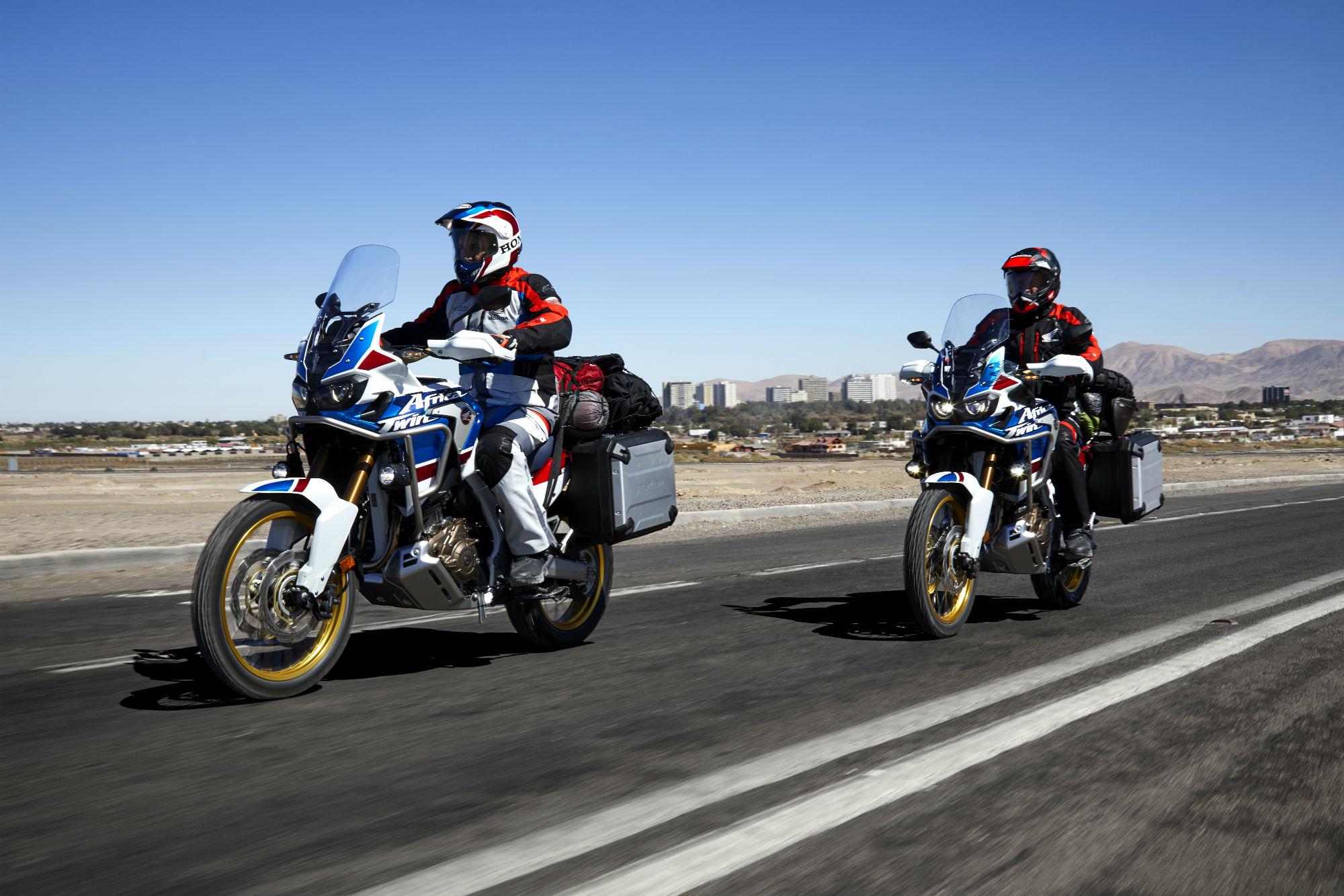 New: Honda Africa Twin Adventure Sport