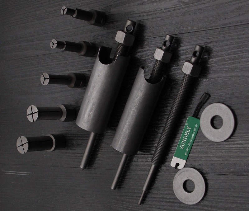 Blind bearing puller