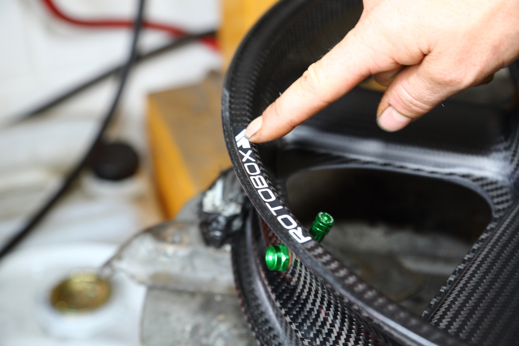 Rotobox wheel closeup