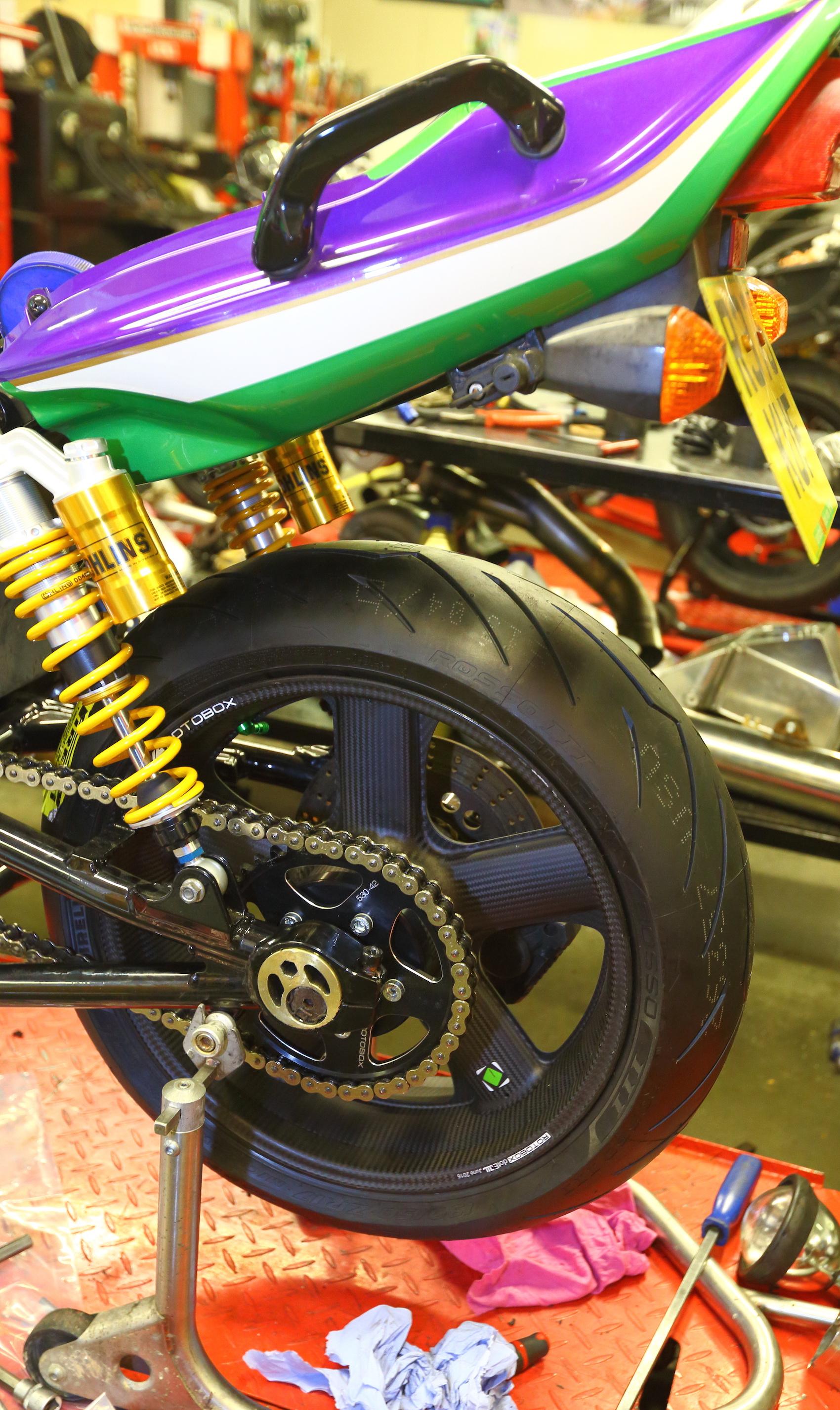 Rotobox wheels on ZRX1100