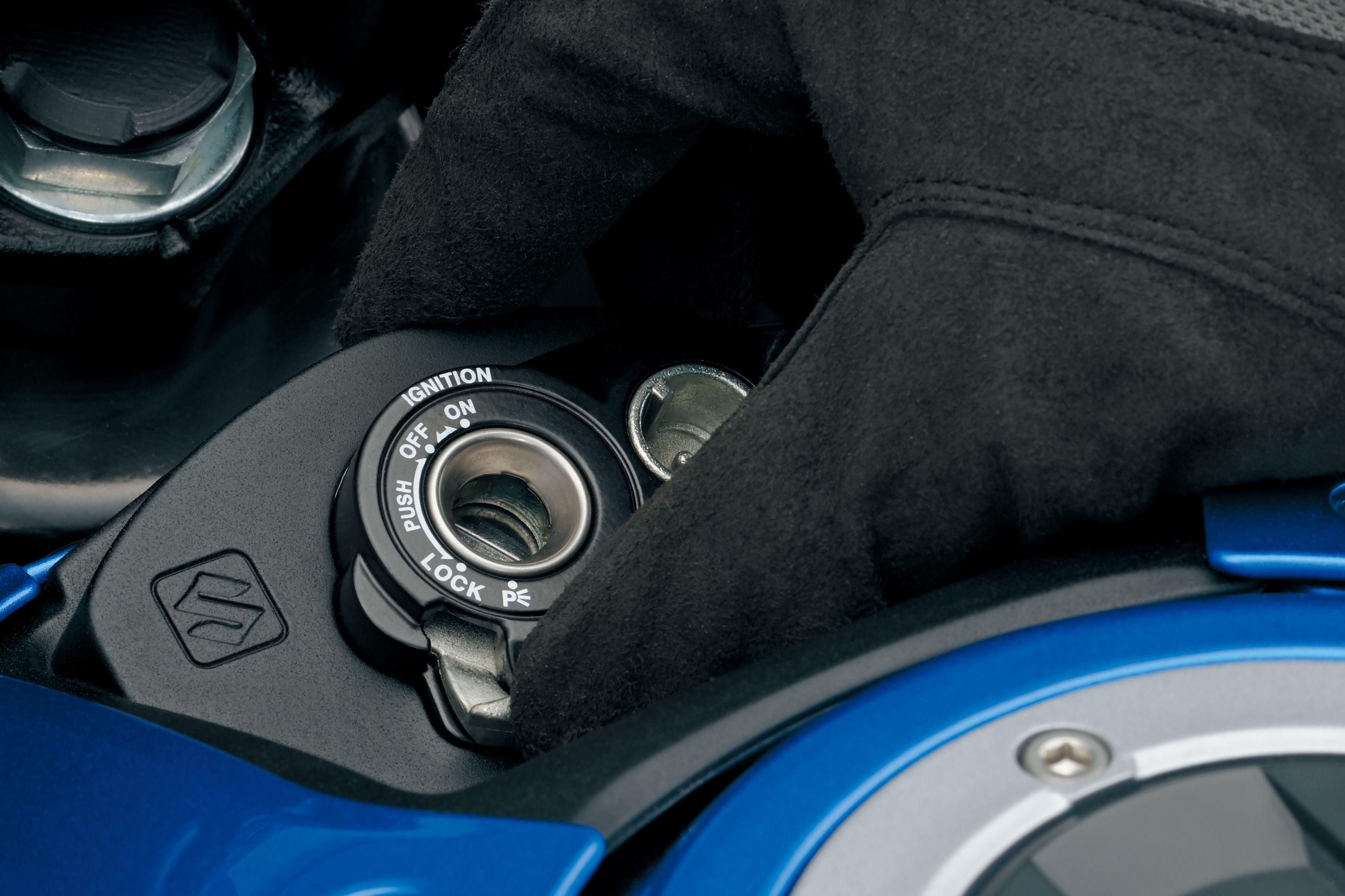 Suzuki GSX-S125 key system