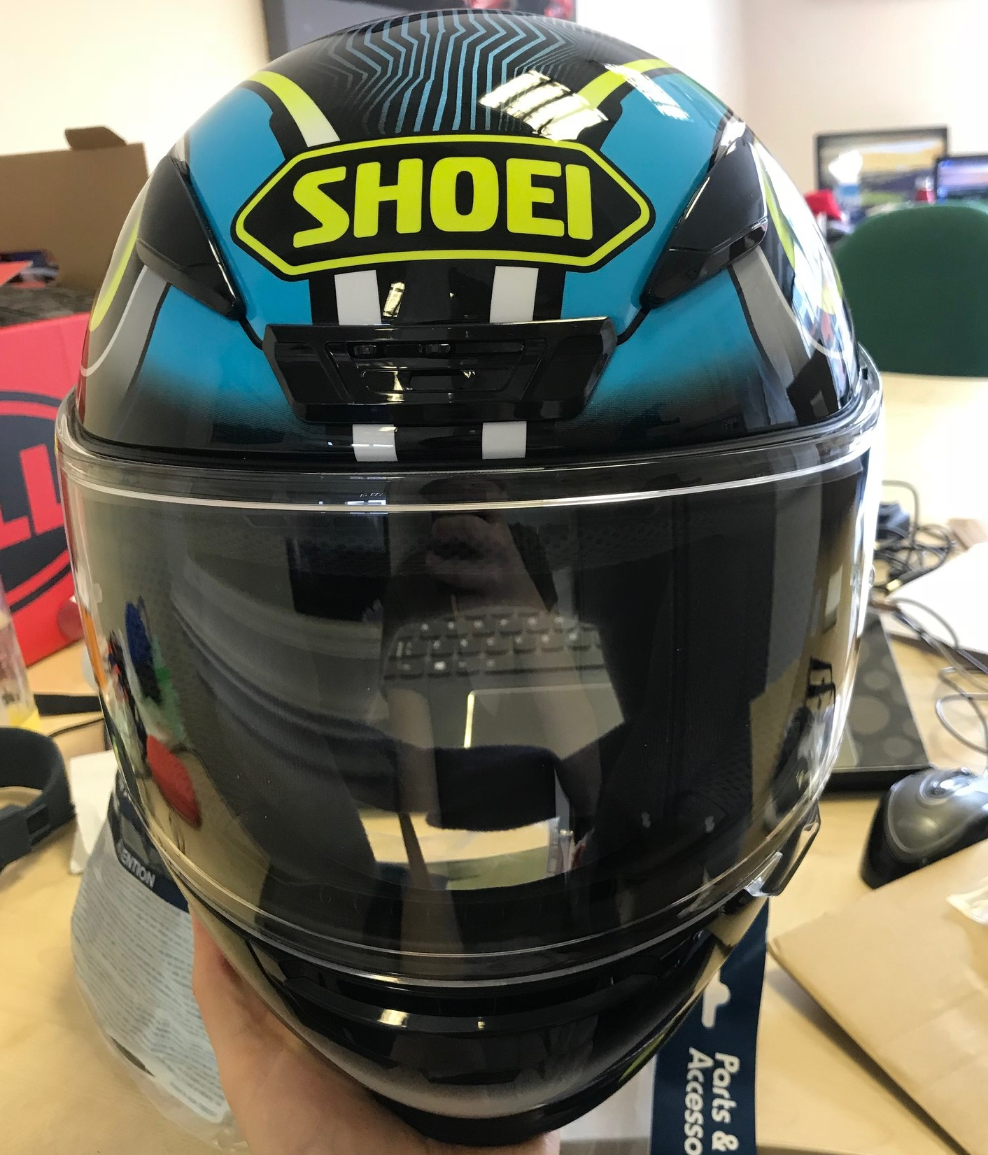 First look – Shoei NXR helmet