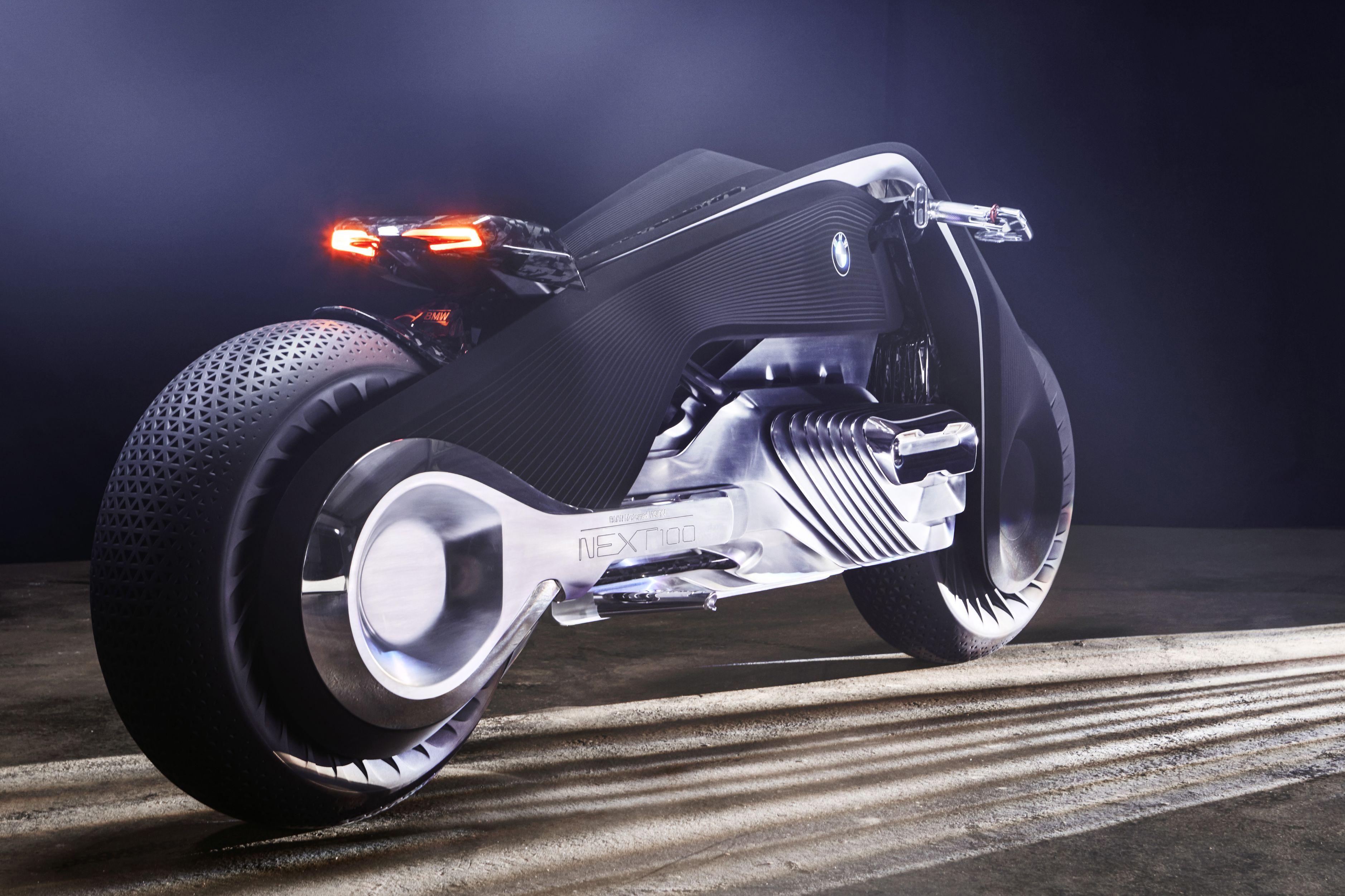 BMW Vision Next 100 concept bike