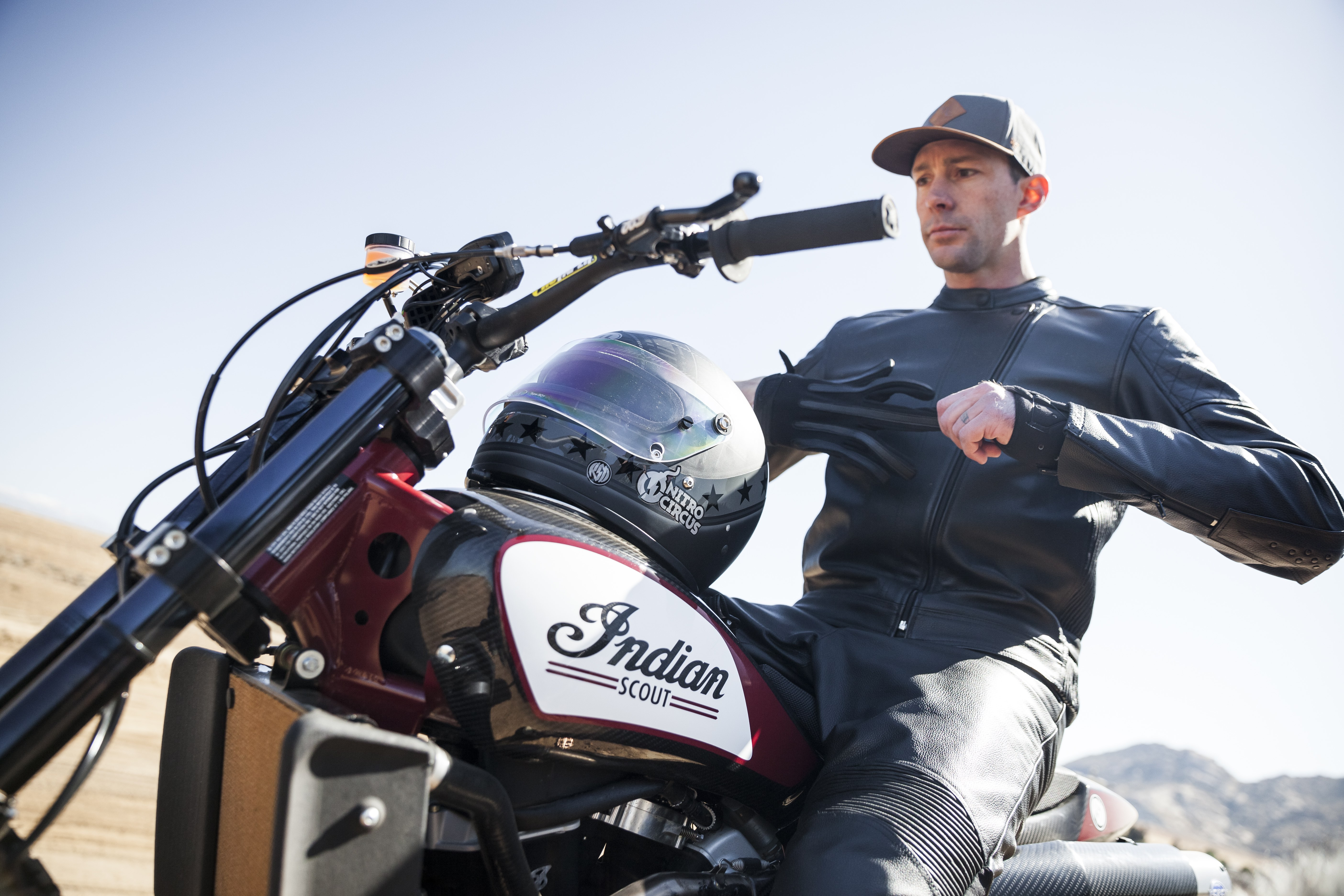 Travis Pastrana to use Indian FTR750 for Knievel-tribute jumps