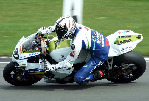 Lap record pace for Hill at Brands