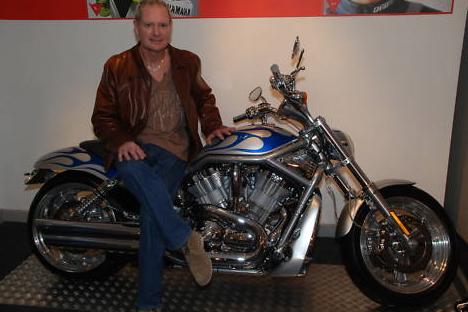 Gazza Harley V-Rod for sale on eBay
