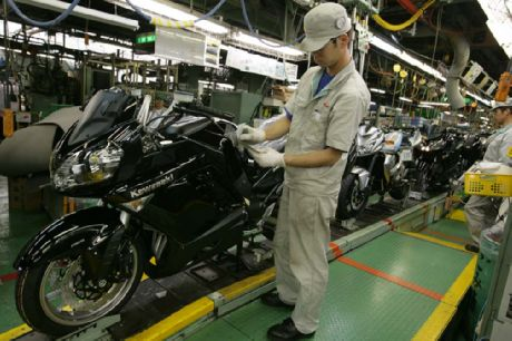 Japan motorcycle exports down over 50 per cent