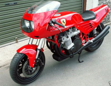 £250,000 one-off Ferrari motorcycle on eBay