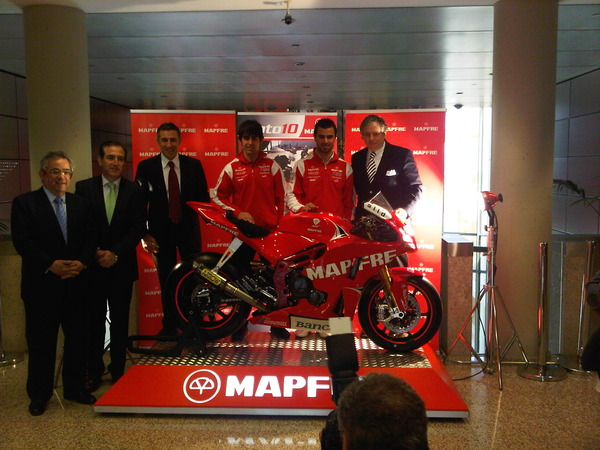 Mapfre Aspar Moto2 bike unveiled
