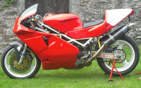 Ex-Rutter Ducati 888 on eBay