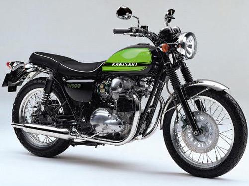 Kawasaki W800 'classic' revealed