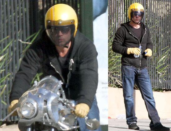Brad Pitt breaks down in LA (again)
