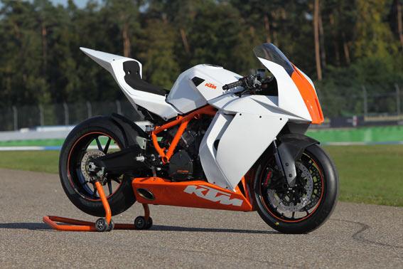 Cologne Show: KTM RC8R Track unveiled