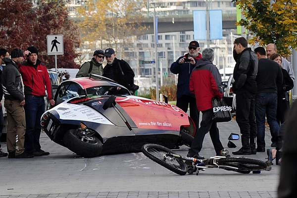 Zero-emission race ends in controversy