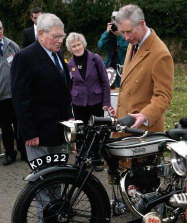"Prince Charles: ""I hate motorbikes"""