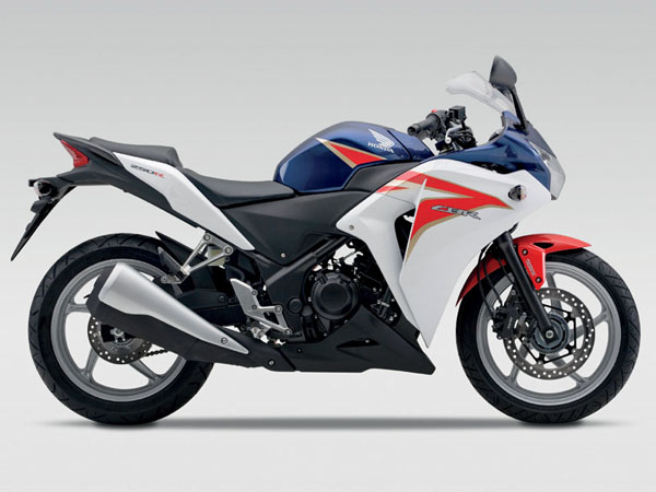 Prices revealed for Honda CBR600F, CBR125R and CBR250R