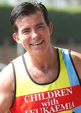 Eddie Kidd completes London Marathon