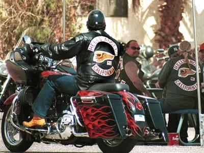 US biker feud started 'over a Starbucks'