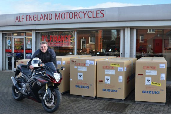 Alf England joins Suzuki dealer network