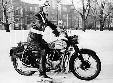 Speeding motorcyclist catches hypothermia