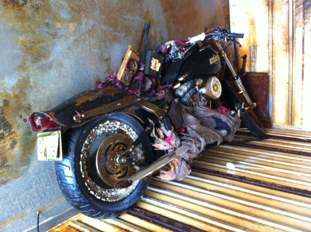 Japanese tsunami Harley owner found