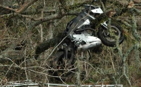 Rider found after three days in a ditch