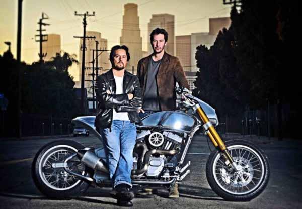 Keanu Reeves starts motorcycle company