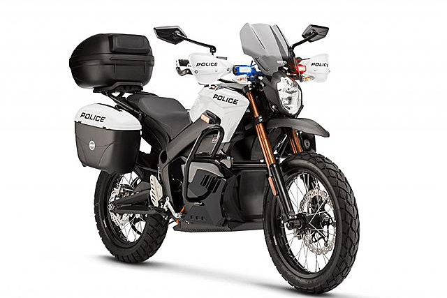 Zero Motorcycles target law enforcement