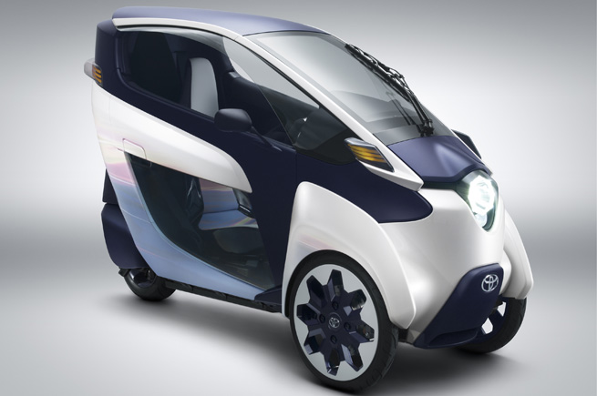 Toyota i-Road: a third way?