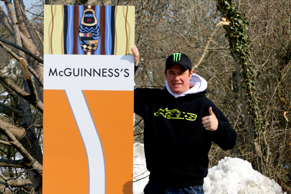 TT corners named after McGuinness and Molyneux