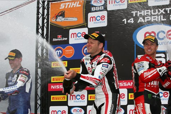 BSB 2013: Thruxton race results