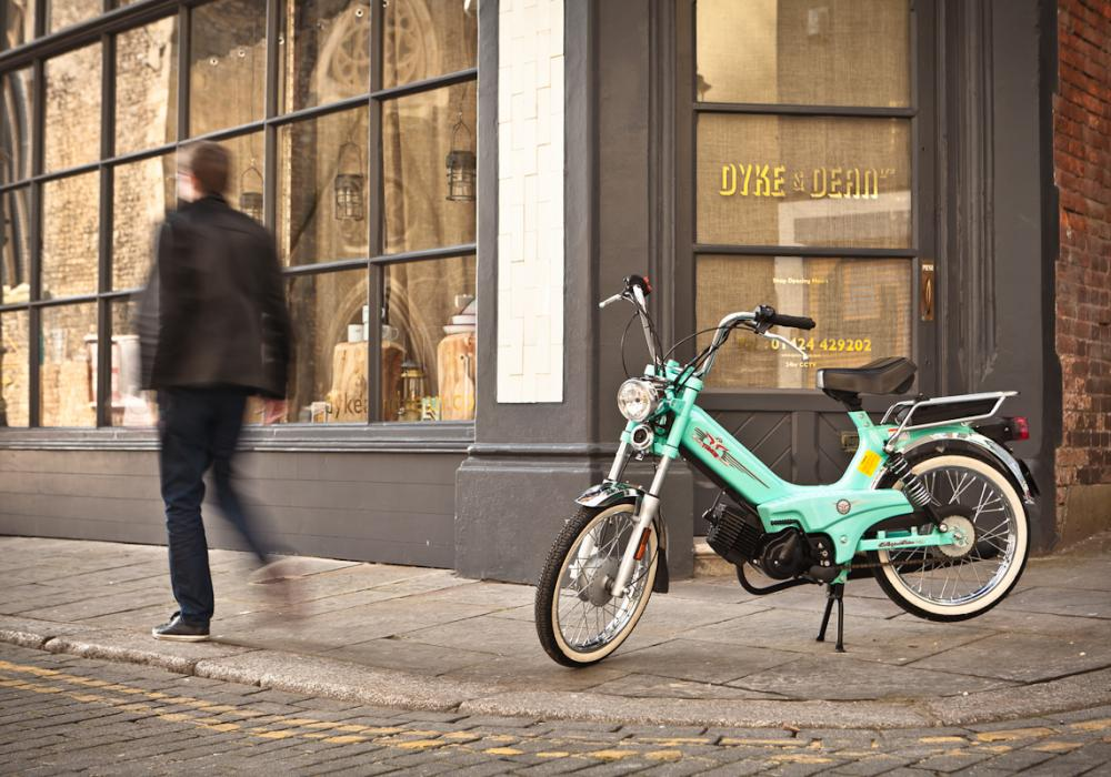 Tomos return to UK after 30 years
