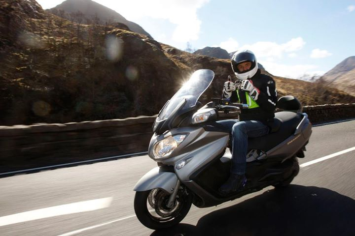 Every scooter available with ABS brakes