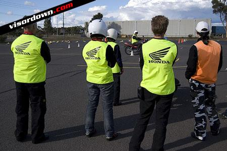 Learn to ride with Visordown: CBT