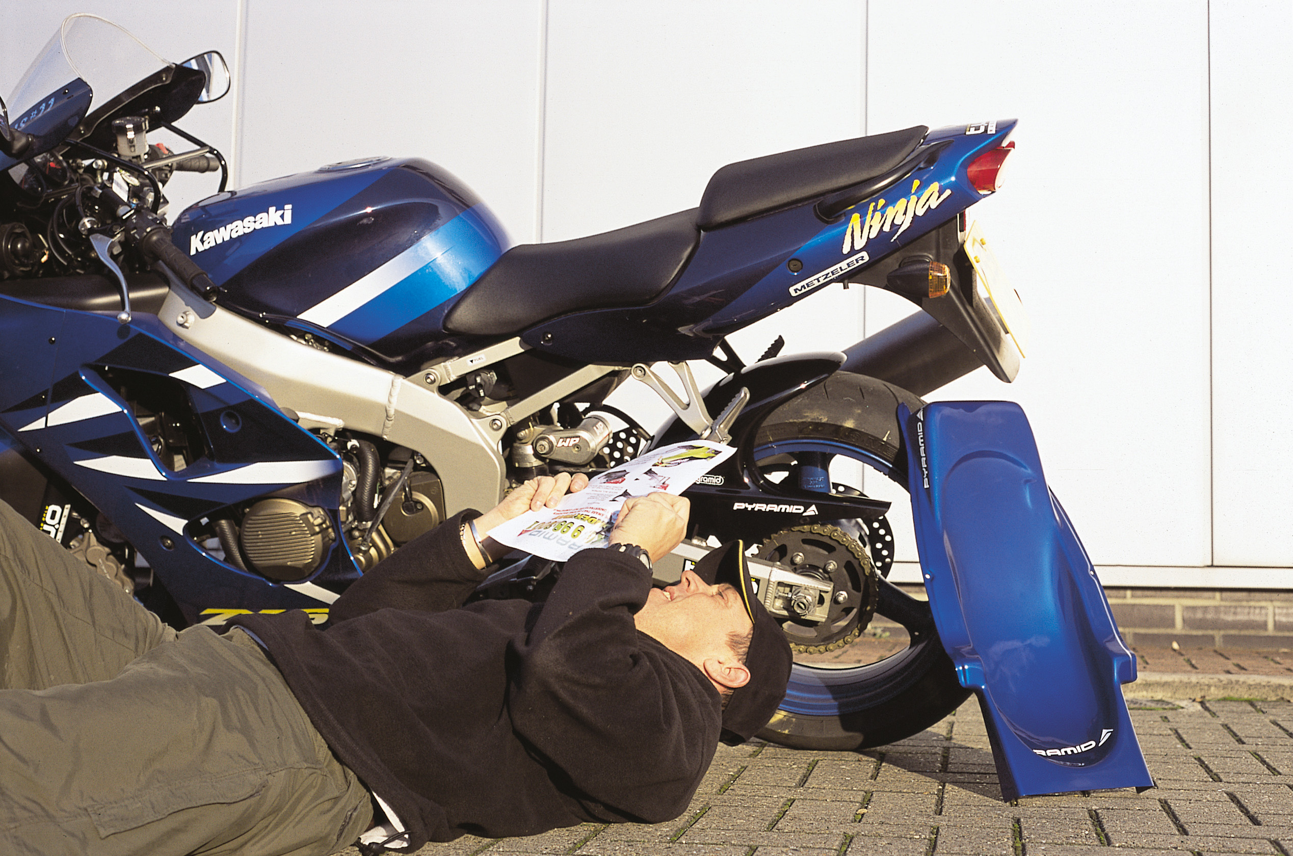Five basics to check on your motorcycle
