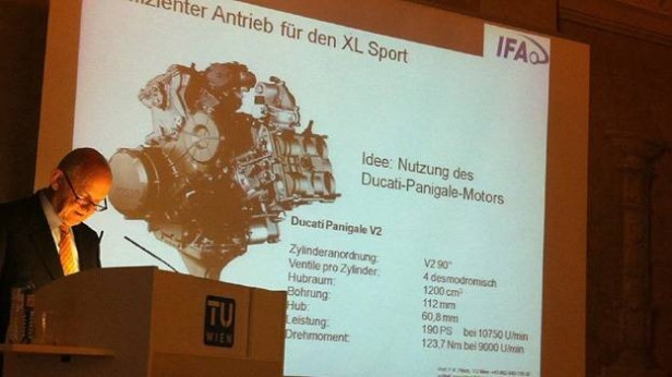 Ducati-powered VW car on the cards