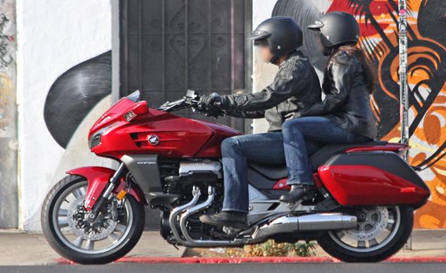 Honda CTX1300 spy shots