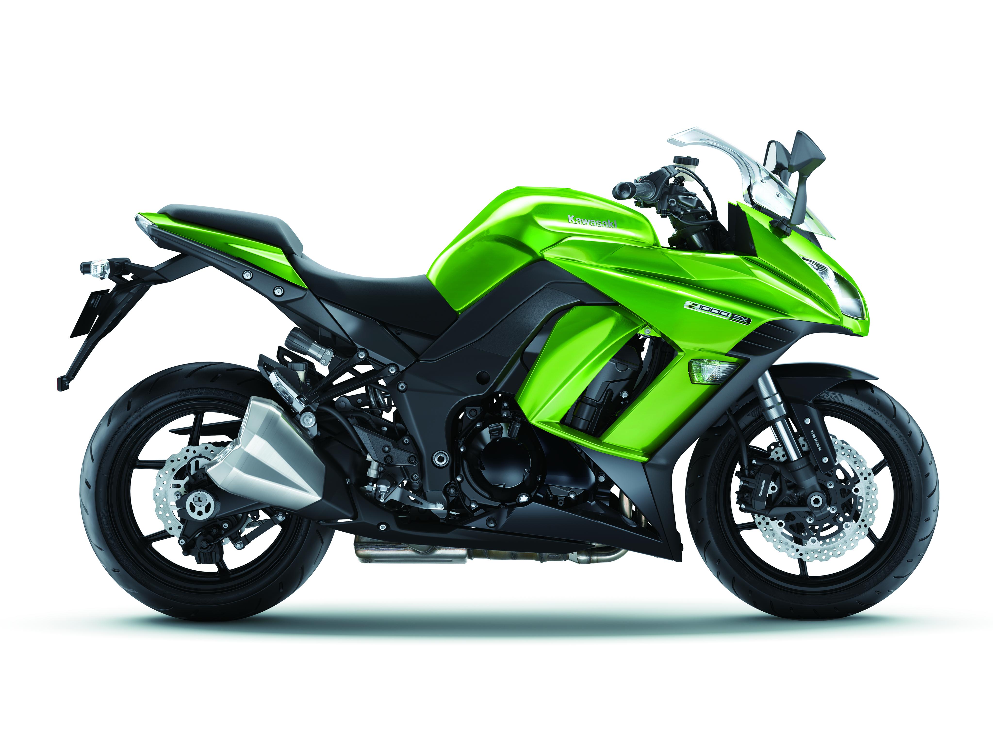 2014 Kawasaki Z1000SX: the rivals