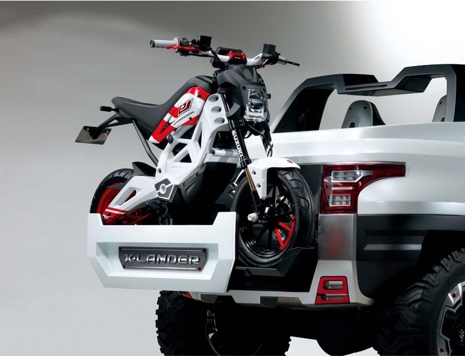 Suzuki's electric monkey bike